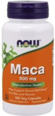 Now Foods Now Maca Roja Andina 500 Mg 100 Caps