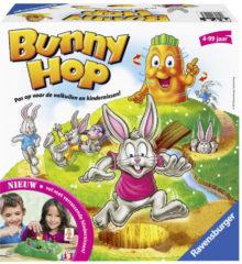 Ravensburger Bunny Hop geheugen en reactiespel.