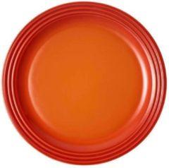 LE CREUSET - Aardewerk - Ontbijtbord 22cm Oranje