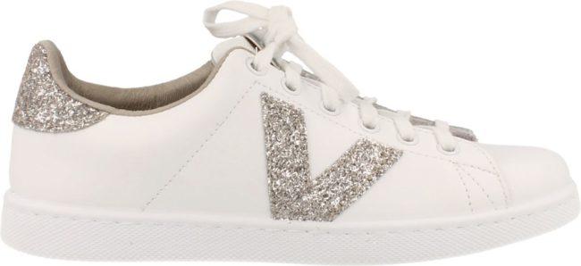 Afbeelding van Victoria Made in Spain Sneaker Laag Dames Nude - Wit | 41