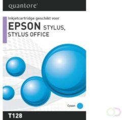 Inkcartridge Quantore Epson T128240 blauw