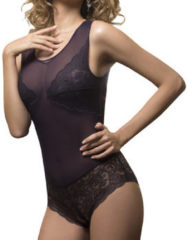 Body's Luna Midnight lace bodystocking paarse