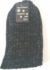 JAP Fashion Rap Fashion Muts Fashion Dames Wol Zwart One-size