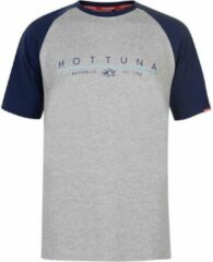 Hot Tuna Printed T-Shirt - Maat XXL - Heren - Grijs/blauw