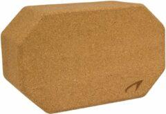 Avento yogablok kurk bruin 23 x 14 x 9,5 cm