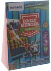 Miniland Leerspel Daily Heroes - Runner Blauw 3-delig