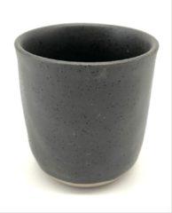 Zwarte Merkloos / Sans marque Koffiekopjes - koffiemok - koffiebeker - set van 6 kopjes - 150ML - keramiek - hip en trendy