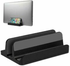 LURK® LURK Design - Verticale Laptopstandaard - Verstelbaar - 13-18 inch - Zwart