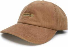 Cord Pet Camel - Baseball Cap - Wakefield Headwear Petten