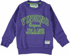Paarse Vingino Sweater Nate Jongens Sweater 98