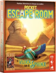 999 Games 999-games Spel Pocket Escape Room De Vloek van de Sfinx