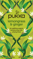 Pukka Org. Teas Lemongrass & Ginger Thee (20st)
