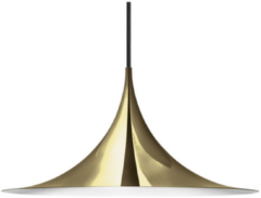 Witte Gubi Semi Hanglamp 60 cm - Messing