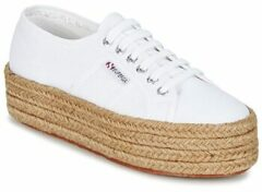 Witte Lage Sneakers Superga 2790 COTROPE W
