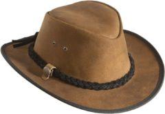 MGO Leisure Wear Leather Countryhoed-Westernhoed Camel