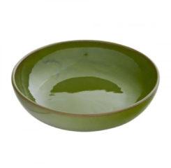 Xenos Schaal Selena - groen - 22 cm