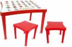 Jamara Tafelset Easy Learning Junior 57 X 41,5 Cm Rood 3-delig