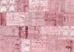 Exclusive Edition Tapijt Pink Romance 195 X 135 Cm Polyester Roze/bordeaux