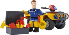 Simba-Dickie Brandweerman Sam Quad Mercurius - Speelfigurenset