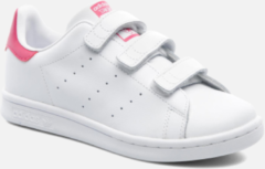 Adidas Originals Stan Smith CF C leren sneakers wit/roze