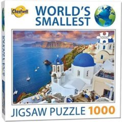 World's Smallest - Santorini Puzzel (1000 stukjes)