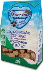 Renske Gezonde Beloning Hartjes 150 g - Hondensnacks - Kalkoen - Hondenvoer