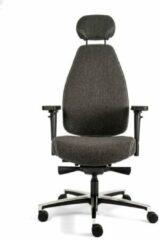 Antraciet-grijze Ralph Voet Luxe bureaustoel Therapod X HR High end - Hoge rugleuning en hoofdsteun - grijs