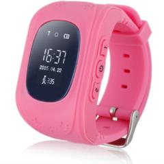 Roze GPS horloge kind tracker - Vouchervandaag GPS kinderhorloge