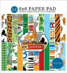 Carta Bella Zoo Adventure 6x6 Inch Paper Pad (CBZA128023)