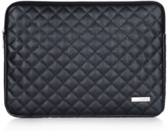 CanvasArtisan Canvas artisan laptop sleeve tot 15.4 inch quilted – Zwart