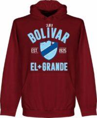 Retake Club Bolivar Established Hoodie - Bordeaux Rood - L