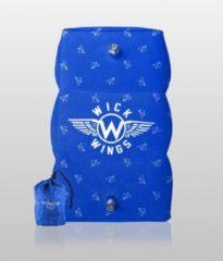 Blauwe Wick Wings - Vliegtuigbedje - Reiskussen - Voetensteun - Anti slip