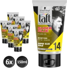 Taft Super Glue Level 14 Power Gel Tube 150 ml - 6 stuks - Voordeelverpakking