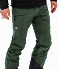 Cortazu All Round Shell Broek Donker Groen | Heren warme outdoor wintersport broek waterdicht & winddicht.