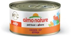 Almo Nature Hfc Cat Jelly Blik 70 g - Kattenvoer - Kip