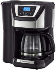 Russell Hobbs Digitale Glas-Kaffeemaschine mit integriertem Mahlwerk Russell Hobbs schwarz/silberfarben