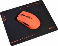 Port Designs 900501 Bluetooth 1200DPI Ambidextrous Rood muis