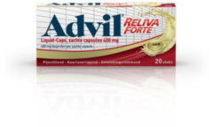 Advil Reliva Forte Liquid Caps 400 mg