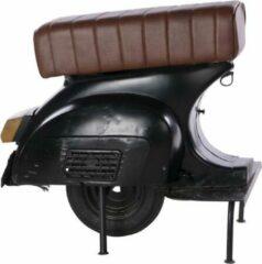 Zwarte Cozy Ibiza Vintage scooter stoel