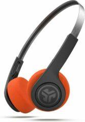 JLab Audio Rewind Wireless Retro - Draadloze Bluetooth On-ear Koptelefoon - Zwart/Oranje