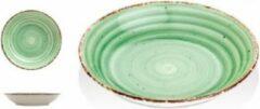 Gural Ent color Set 6 Diep bord 20cm Groen 618683