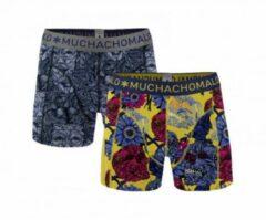 Blauwe Muchachomalo boxershorts