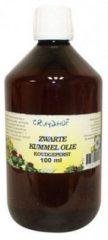 Cruydhof Zwarte kummel olie koudgeperst 100 Milliliter