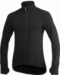 Woolpower - Full Zip Jacket 400 - Wollen jack maat M, zwart