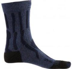 X-Socks Trek X CTN Outdoor Sportsokken - Maat 41/42 - Vrouwen - donker blauw/zwart