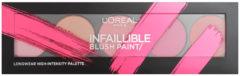 L'Oréal Paris LOreal Paris Cosmetics Infaillible Blush Paint Palette Pinks 10 gr