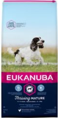Eukanuba Thriving Mature Medium Breed - Hondenvoer - Kip 15 kg - Hondenvoer