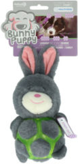 Bunny Puppy Puppy Strappy - Hondenspeelgoed - 26x13x7 cm Grijs Roze
