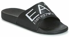 Zwarte Teenslippers Emporio Armani EA7 SEA WORLD VISIBILITY M SLIPPER
