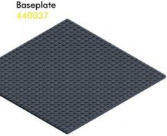 Hubelino knikkerbaan basisplaat 26 x 26 cm zwart